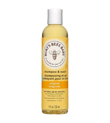 Burt's Bees Baby shampoo and wash (235 ml)