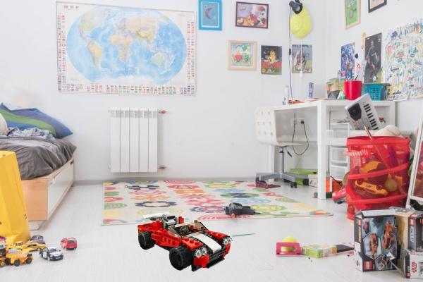 La voiture LEGO Creator 3-en-1