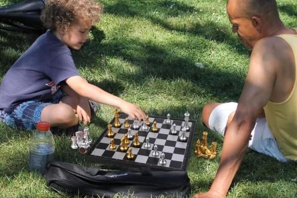 jeu d'échecs magnétique de Peradix