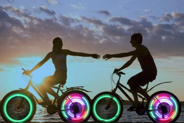 lampes LED pour roues de vélo de LedGle