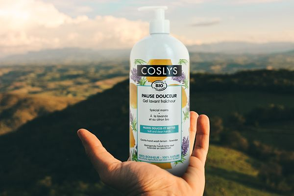 Coslys Gel Lavant Mains Lavande + Citron bio