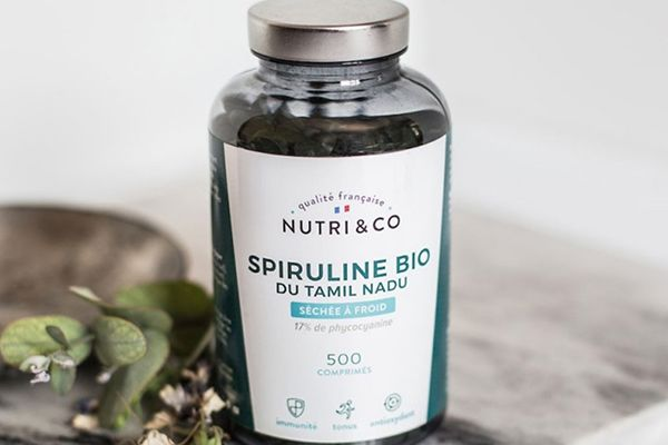Nutri and Co Spiruline bio