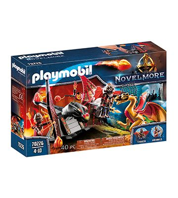 Burnham Raiders et Dragon Doré de Playmobil