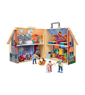 La maison transportable de Playmobil