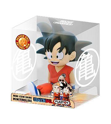 La mini tirelire San Goku de Plastoy