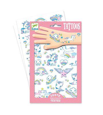 Tatuajes de unicornio Djeco