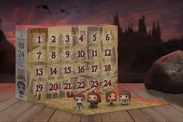 Calendrier Funko POP! Harry Potter