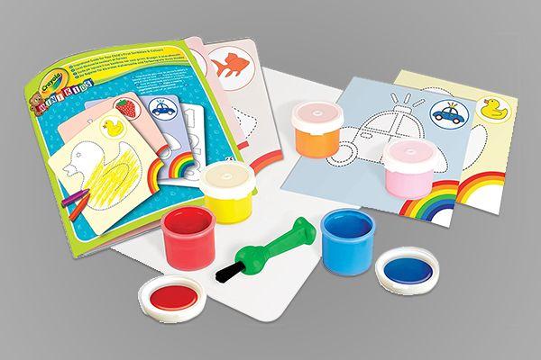Le premier kit peinture de Crayola