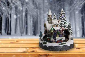 La chapelle de Feeric Lights and Christmas
