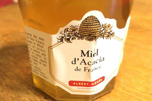 Miel d'acacia de France, de Maison Ménès
