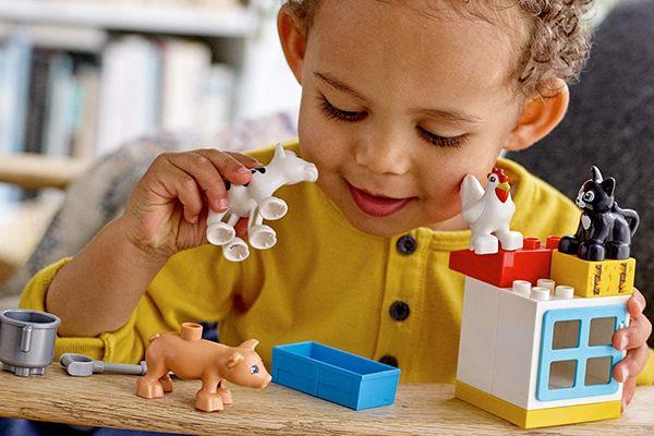 Les animaux de la ferme de Lego Duplo