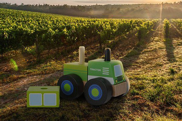 Le tracteur à assembler de Small Foot
