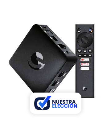 Box Android TV 9.0 Ematic UHD 4K