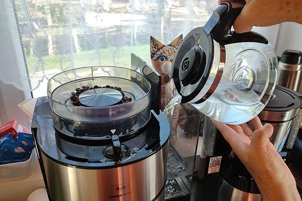 Réservoir eau des cafetières