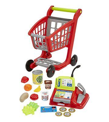 Le chariot de supermarché d'Écoiffier