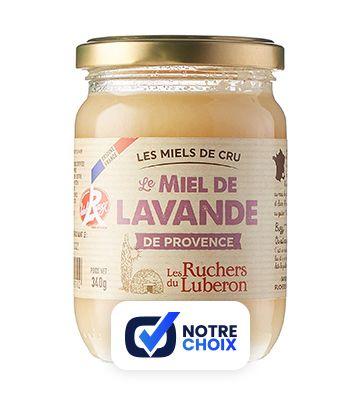 Miel de Lavande de Provence, des Ruchers du Luberon (340 g)