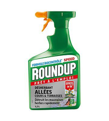 Roundup en pulvérisateur