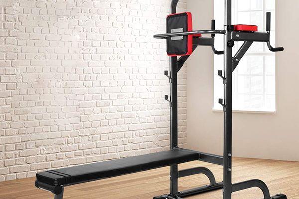 Pullup Fitness avec banc de musculation