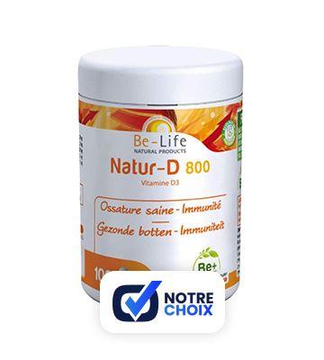 Be-life Natur-D 800 (100 gélules)