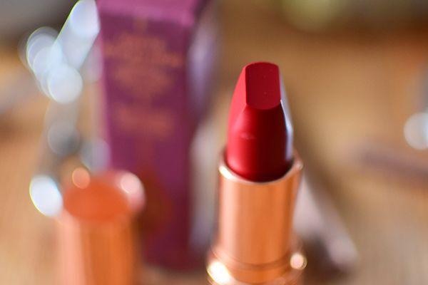 Forme des rouges à lèvres