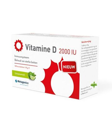 Metagenics Vitamine D 2000 IU