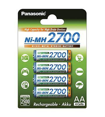 Panasonic NiMH 2700 mAh