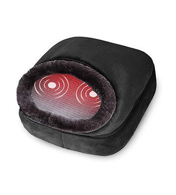 Snailax 3-in-1 Foot Warmer & Back Massager