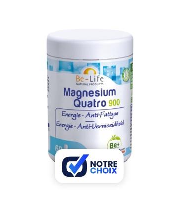 Be-Life Magnesium Quatro 900 (60 gélules)