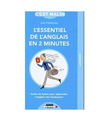 L'essentiel de l'anglais en 2 minutes, de Julie Frédérique (2020)