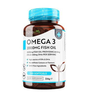 Nutravita Omega 3 (240 gélules)
