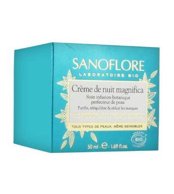 Crema de noche Sanoflore Magnifica (50 ml)
