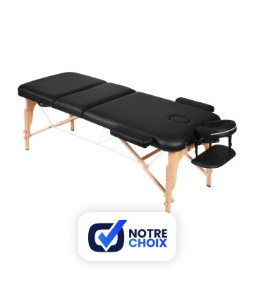 Naipo Table de Massage Pliante 3 Sections