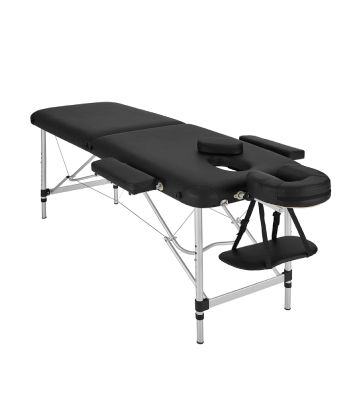 TecTake Table de Massage Pliante en Aluminium