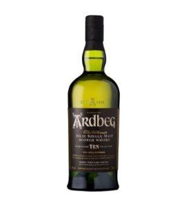 Ardbeg 10 ans single malt whisky