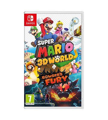 Super Mario 3D World + Furia de Bowser