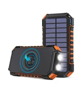 Chargeur solaire Hiluckey