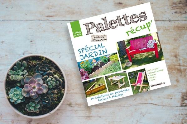 Livre Palettes récup' spécial jardin
