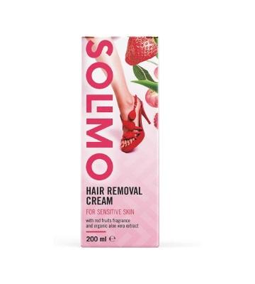 Solimo Crème Dépilatoire Peaux Sensibles (4 x 200 ml)