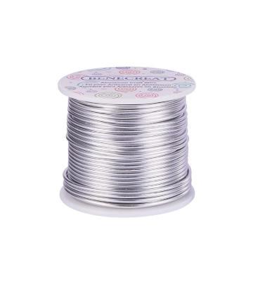 Benecreat 30 m de fil d'aluminium de 2 mm