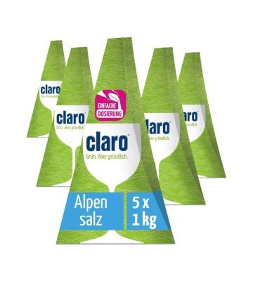 Claro Sel pour Lave-Vaisselle (5 x 1 kg)