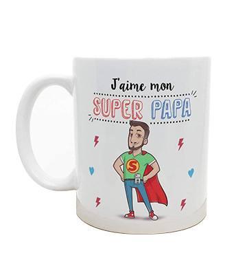 La tasse Super Papa de Mugffins