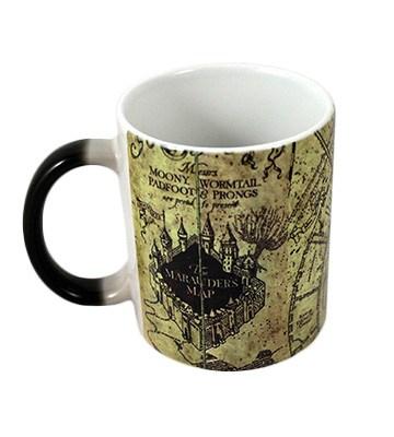 La tasse magique avec la Carte du Maraudeur de HobbyElx