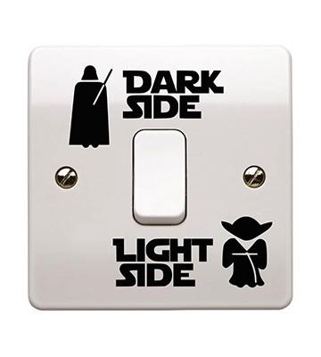 Les autocollants pour interrupteur Star Wars de Epic Modz