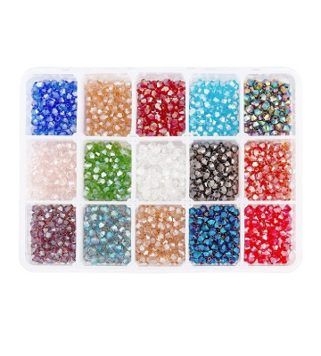 PandaHall Elite 1560 perles de 15 couleurs