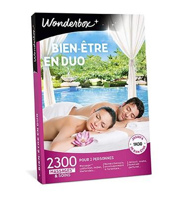 Le coffret cadeau bien-être en duo de Wonderbox