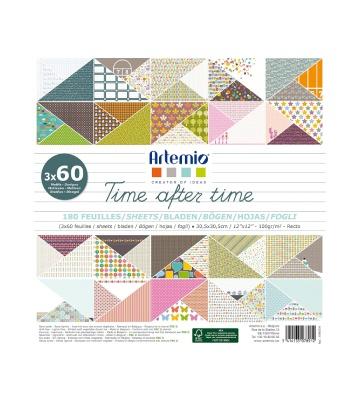 Artemio Set de 180 feuilles carrées 11002254