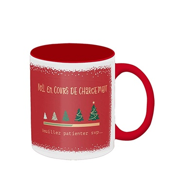 La tasse de Noël de Grafik Werkstatt