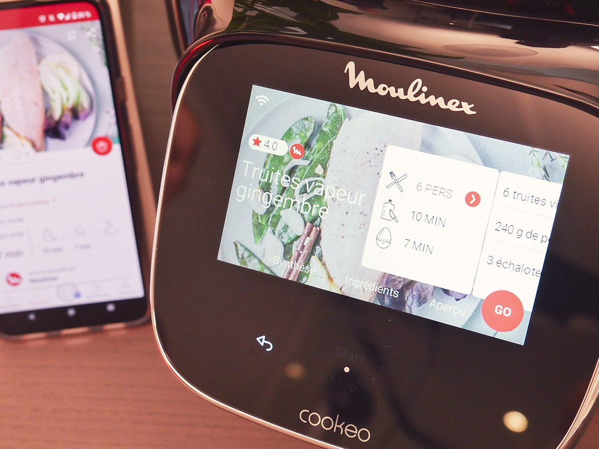 Moulinex Cookeo Touch Wifi