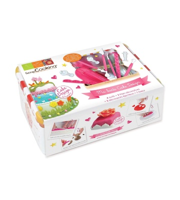 ScrapCooking 3983 Boîte Nécessaire Cake Design